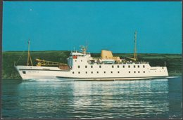 RMS Scillonian III On The Penzance To Isles Of Scilly Service, C.1980 - Photo Precision Postcard - Steamers
