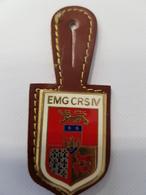 Insigne Compagnie De CRS EMG CRS IV - Police