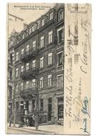 67 STRASBOURG RESTAURANT KARL HARTUNG RUPRECHTSAUER ALICE 1929 CPA 2 SCANS - Strasbourg