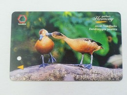 Singapore MRT Transitlink Card Ticket - Javan Tree Ducks Perfect Harmony(L209) - Railway