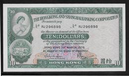 Hong Kong - 10 Dollars - Pick N°182h - NEUF - Hong Kong