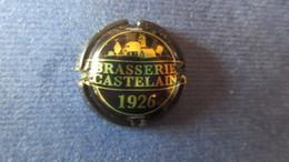 CAPSULE BRASSERIE CASTELAIN 1926. Noir Et Or - Cerveza