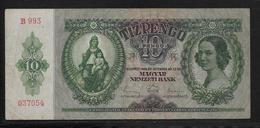 Hongrie - 10 Pengo - 1936 - Pick N°100 - TTB - Hongrie