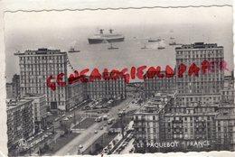 76- LE HAVRE - FRANCE DE LA COMPAGNIE GENERALE TRANSATLANTIQUE -CGT- PAQUEBOT - Haven