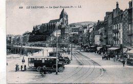 Cpa(76)-le Trèport.- Le Quai Francois 1er - Le Treport