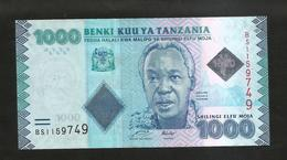 TANZANIA - 1000 SHILINGI (2010) - Tanzania