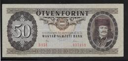 Hongrie - 50 Forint - 1980 - Pick N°170d - TTB - Hongrie
