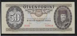 Hongrie - 50 Forint - 1986 - Pick N°170g - SPL - Hongrie