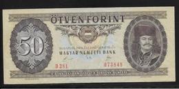 Hongrie - 50 Forint - 1989 - Pick N°170h - SUP - Hongrie