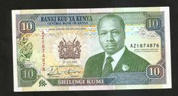 KENYA - CENTRAL BANK Of KENYA - 10 SHILLINGS (1993) - D. TOROITICH ARAP MOI - Kenya