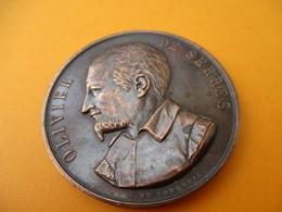 Médaille/Olivier De SERRES/Société D'Agriculture/ALLIER/Concours Agricole/SAINT POURCAIN/ Longueil/ Cuivre/1883   MED224 - France