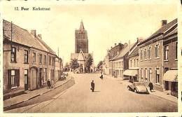Peer - Kerkstraat  (animation, Oldtimer, Uitg. P. Baeten-Ooms) - Peer
