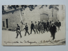 30 BELLEGARDE Municipalité En 1936 - Défilé De La Course De Taureaux - Carte-photo Inédite En Bel état TAB712 - Bellegarde