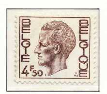 D- [151031] **/Mnh-N° 1644, 4,50F Brun, Type Elstrom, Papier Phosphore, SNC - 1970-1980 Elström