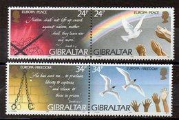 GIBRALTAR  Timbres Neufs ** De 1995 ( Ref 5405 )  Europa - Gibraltar
