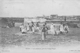 Sétif.  Les Abbattoirs, Pris Du Village Nègre.--scan--- - Algérie