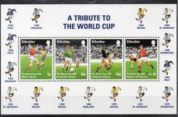 GIBRALTAR  Timbres Neufs ** De 1998 ( Ref 5407 ) Sport - Football - Gibraltar
