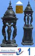 Carte De Stationnement Paris Carte 1 : Fontaines Wallace - Autres