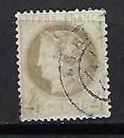"""FR YT 52d """" Cérès 4c. Gris Clair """" CAD LE HAVRE - 1871-1875 Cérès"""