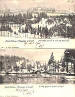 Neufchâteau (Paysage D'hiver) - Lot 2 Cartes (1902) - Neufchâteau