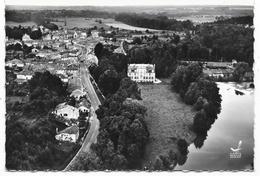 Cpsm: 52 EURVILLE (ar. Saint Dizier) La Marne Et Le Château (Vue Aérienne) 1958  N° 1 - Autres Communes