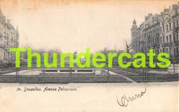 CPA BRUXELLES AVENUE PALMENSON - Avenues, Boulevards