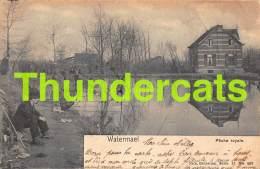 CPA  WATERMAEL PECHE ROYALE NELS BRUXELLES SERIE 11 NO 409 - Watermael-Boitsfort - Watermaal-Bosvoorde