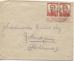 TP 123(2) S/L.c.PMB-BLP 4 9/4/1915 écrite Par 1 Soldat V.Rotterdam C.d'arrivée AP2032 - Guerre 14-18