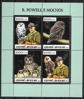 GUINEA - BISSAU  2005 Owls (silver) - Owls