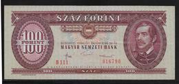 Hongrie - 100 Forint - 1984 - Pick N°171g - SPL - Hongrie