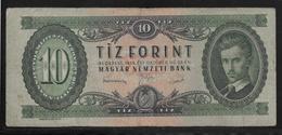 Hongrie - 10 Forint - 1949 - Pick N°164 - TTB - Hongrie