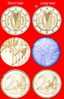 # LONG HEEL OF BOOT OF ITALY: IRELAND ★ 2 EURO 2005   UNCOMMON! UNPUBLISHED! LOW START ★  NO RESERVE! - Abarten Und Kuriositäten