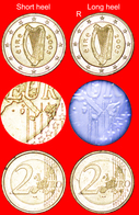 # LONG HEEL OF BOOT OF ITALY: IRELAND ★ 2 EURO 2005   UNCOMMON! UNPUBLISHED! LOW START ★  NO RESERVE! - Varietà E Curiosità