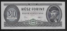 Hongrie - 20 Forint - 1975 - Pick N°169f - NEUF - Hongrie