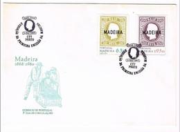 Portugal, 1980, # 1454/5, FDC Evocação Da 1ª Emissão Madeira - FDC