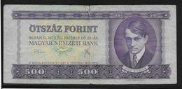 Hongrie - 500 Forint - 1975 - Pick N°172 - TB - Hongrie