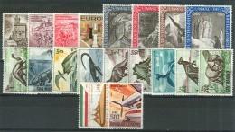 SAN MARINO - 1965 - Annata Completa + Espresso + Posta Aerea - 21 Valori - Year Complete ** MNH/VF - Saint-Marin