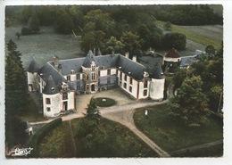 Perreux (yonne) Chateau De Montigny Et Le Parc (vue Aérienne N°51/98 Cp Vierge) Pigeonnier Colombier - Autres Communes