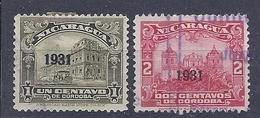 180029887  NICARAGUA  YVERT  Nº  599/60 - Nicaragua