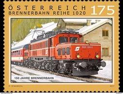 Austria 2017 - 150 Years Of The Brenner Railway - 1945-.... 2ème République