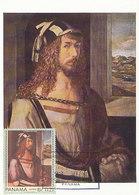 D34269 CARTE MAXIMUM CARD FD 196.. PANAMA - DÜRER SELF PORTRAIT CP ORIGINAL - Arts