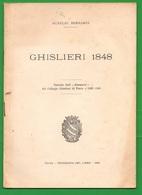 Ghislieri 1848 Pavia Collegio Libretto - History, Philosophy & Geography