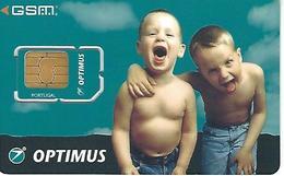 Optimus Mobile Phone Card GSM - Portugal - Portugal