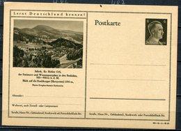 """German Empires 1941 Kopfbild A.Hitler GS Mi.Nr.P305/42-8-1-B13""""Lernt Deutschland Kennen!-Schirk,Beskiden,Oberschl."""" 1 GS - Germany"""