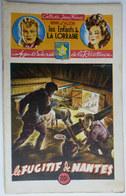 Roman LES ENFANTS DE LA LORRAINE N°08 LE FUGITIF DE NANTES H D'ALZON BRANTONNE 1946 Collection Jeune France - Aventure