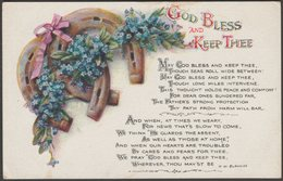 Greetings - God Bless And Keep Thee, C.1905 - Wildt & Kray Postcard - Other