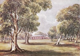 Captain Sturt's Home, The Grange C 1849, Adelaide In Watercolour, Unused - Adelaide