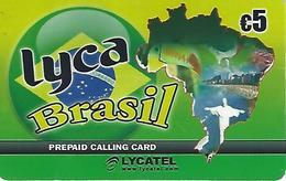 Prepaid Calling Card - Lyca Brasil - Portugal - Portugal