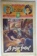 Roman LES ENFANTS DE LA LORRAINE N°18 LE PIEGE FATAL H D'ALZON BRANTONNE 1947 Collection Jeune France - Aventure