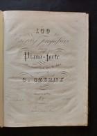 Musica Spartiti - 100 Esercizi Progressivi Per Il Pianoforte - C. Czerny - Old Paper
